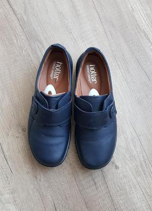 Кожаные туфли hotter2 фото