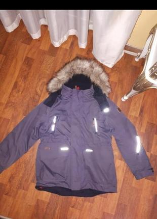 Зимняя куртка парка reima 140cm