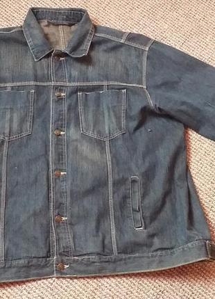 Куртка пиджак джинсовая раз.56/58 (3хл)