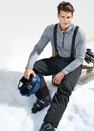 Лыжные штаны softshell термо р. евро s 44-46 tcm tchibo германия