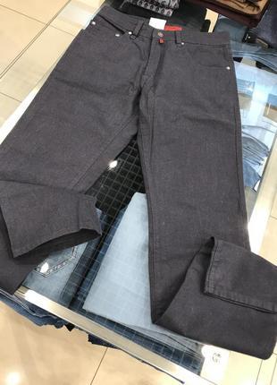 Мужские брюки pierre cardin темно-синего цвета со скидкой-50%