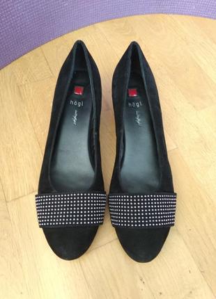 Стильные туфли hogl butterflight
