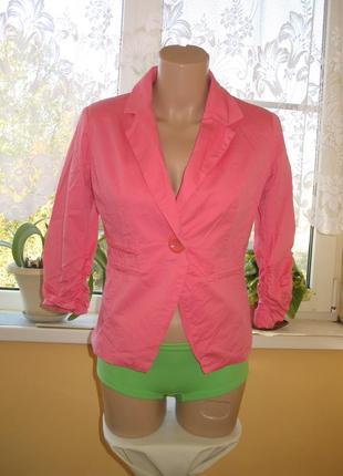 Стильный короткий пиджак