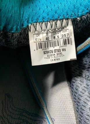 Полуботинки кроссовки lowa sirkos gtx® original 40 размер трекинговые5 фото