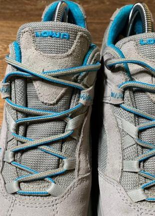 Полуботинки кроссовки lowa sirkos gtx® original 40 размер трекинговые3 фото