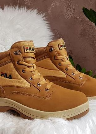 Ботинки чоботи fila