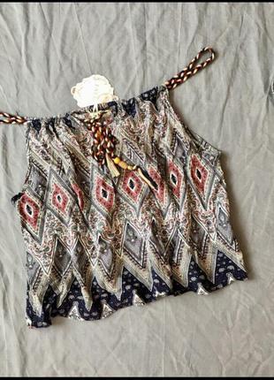 Топ майка футболка этническмй стиль этно