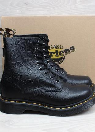 Женские кожаные ботинки dr.martens 1460 оригинал, размер 36 (черные)