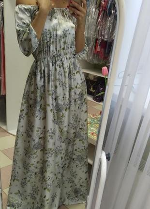 Безумно красивое, дорогое, изысканное платье в пол