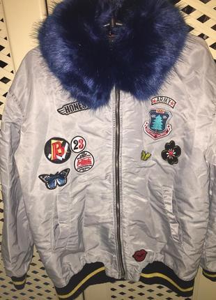 Zara m куртка