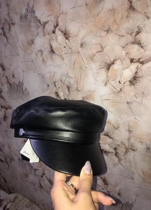 Головной убор stradivarius картуз женский стильный