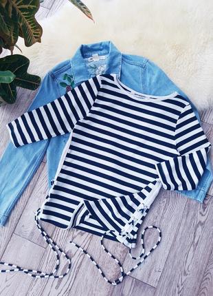 Блуза в полоску от donna lewis