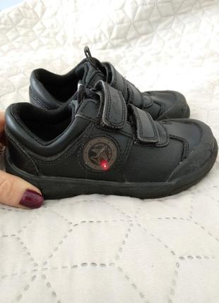 Туфли кроссовки clarks, 24 размер