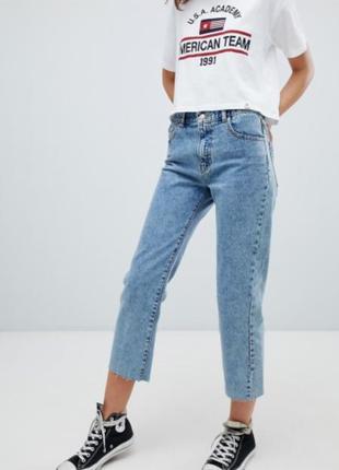 Regular jeans джинсы pull&bear