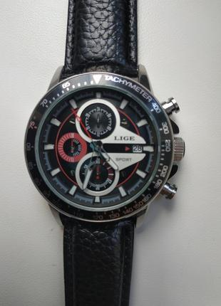Чоловічий наручний годинник lige
