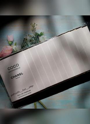 Пробники chanel coco mademoiselle упаковка 12 шт