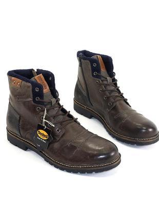 Ботинки dockers кожа германия 47 р оригинал