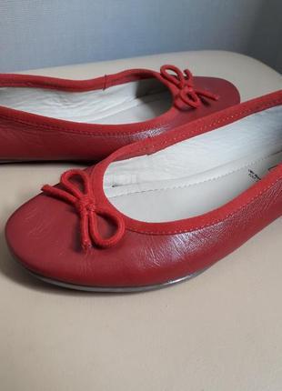 37 р. 5th avenue кожаные легусенькие туфли балетки