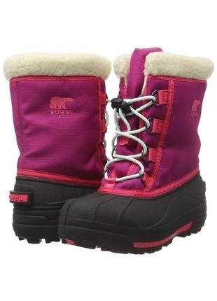Sorel kids' youth cumberland зимние сапоги, ботинки  р. 39