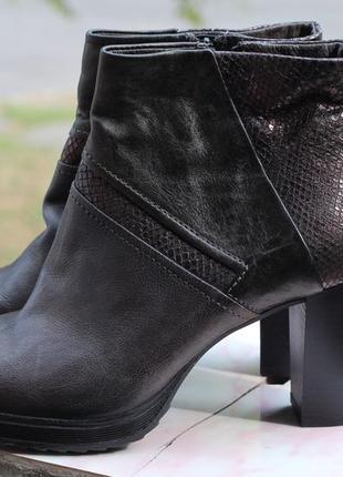 Шикарные кожаные ботильоны mjus 40-41