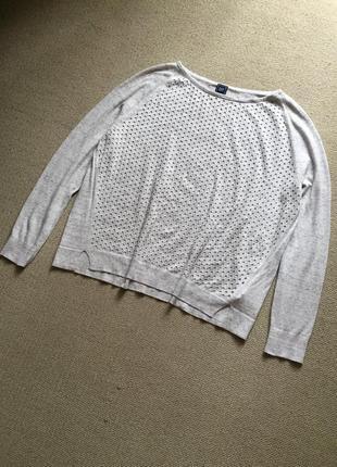 Милый тонкий свитерок натуральный
