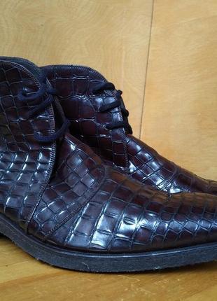 Ботинки paolo scafora р-р. 43-й
