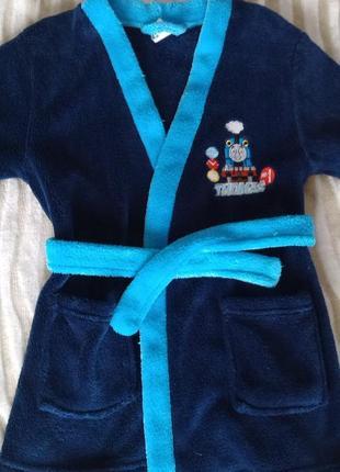 Халат, пижама thomas 2-4 года