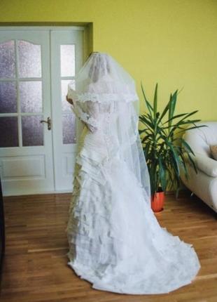 Свадебное платье kahiani t., весільна сукня kahiani