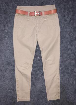 Стильные брюки бежевые /новые /бренд part two