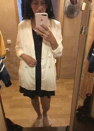 Пиджак лен