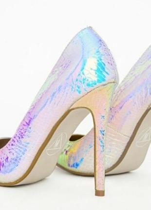 Шикарные туфли лодочки на каблуке от missguided