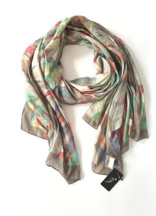 Новый шелковый шарф
