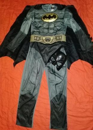 Карнавальный костюм бетмен на 9-10лет.