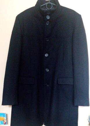 Шерсть! мужское демисезонное пальто!