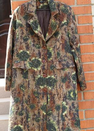 Роскошное демисезонное пальто x-two  52-54