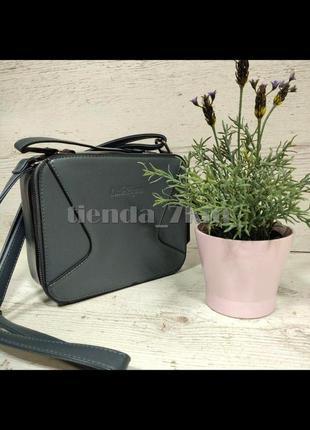 Женская сумка через плечо / повседневный клатч little pigeon 11890a серый