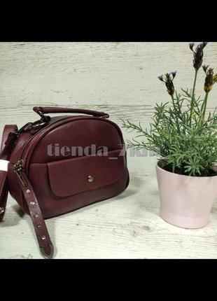 Женская сумка через плечо / повседневный клатч little pigeon 11891 бордовый
