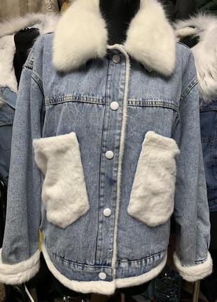 Нова!!новая куртка/джинсовая/джинсова куртка/утепленна