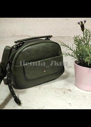 Женская сумка через плечо / повседневный клатч little pigeon 11891 зеленый