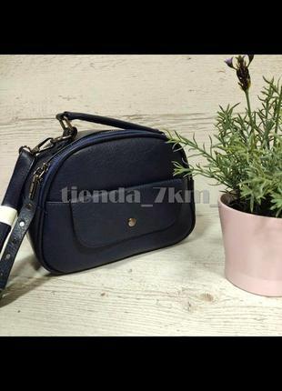 Женская сумка через плечо / повседневный клатч little pigeon 11891 синий