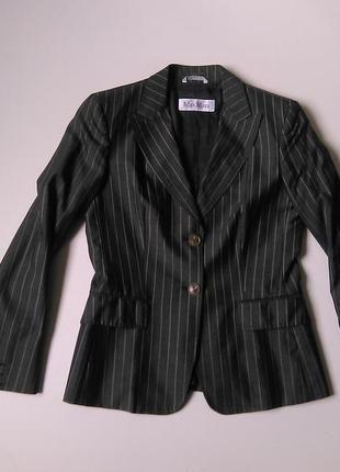 Брендовый    приталенный пиджак/ жакет /блейзер  -max mara