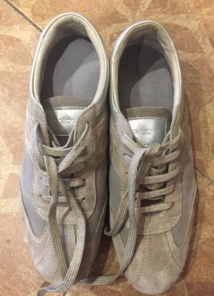 Супер комфортные и легкие кроссовки от geox