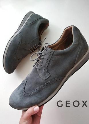 Мужские кроссовки/туфли - еатуральные кожаные замш +кожа