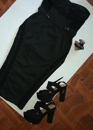 Очень стильное,крутое платье,бюстье,с открытой спинкой р с