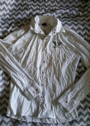 Брендовая мужская рубашка, размер л