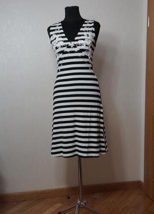 Платье французское, нежнейший трикотаж с эластаном