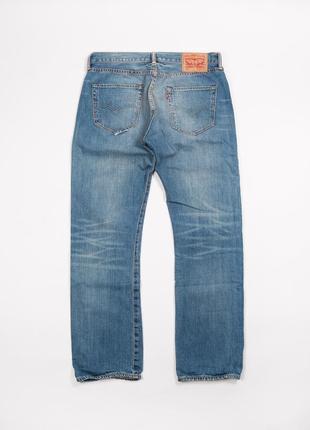 Мужские голубые джинсы levi's 501