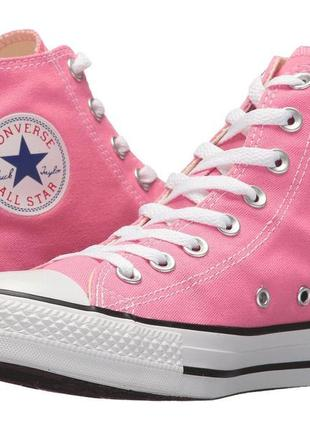 Кеды converse all star hi pink original