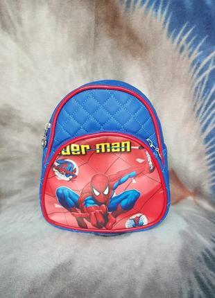 Рюкзак человек паук для мальчика
