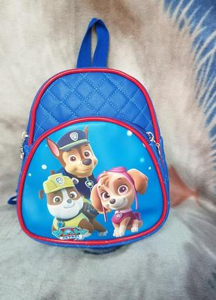 Рюкзак кож зам патруль синий1 фото